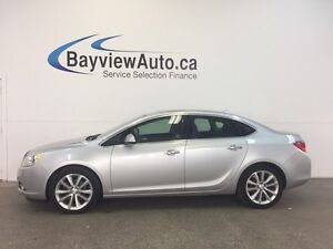 2013 Buick VERANO LUXURY- SUNROOF! REM START! LEATHER! REV CAM!