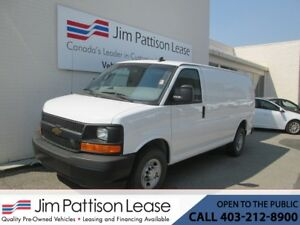 2017 Chevrolet Express 2500 4.8L RWD Cargo Van w/ Partition & Po