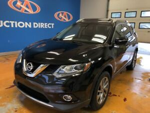2015 Nissan Rogue SL SL/ HEATED, POWER LEATHER/ VISTA ROOF/ P...
