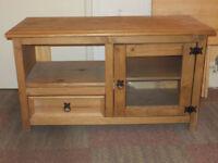 Pine TV stand £70
