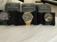 Men's Armani watches