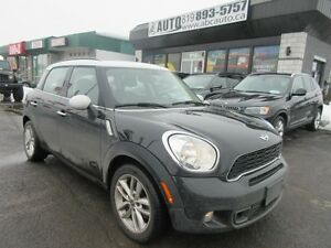 2014 Mini Cooper Countryman S (AWD, Panoramic roof, Leather, Aut