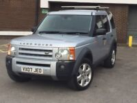 2007 Land Rover Discovery 3 2.7 TDV6 HSE AUTO.. 4x4..XENONS..LEATHER.. NAV.. 7 SEATS..SUNROOF..X5