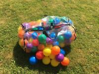 Bag of Ball Pit / Paddling Pool Balls