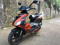 FULLY WORKING 2005 Aprilia sr 50cc 50 cc 70 cc scooter moped with 1 years mot.