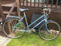 Vintage Ladies Raleigh bike