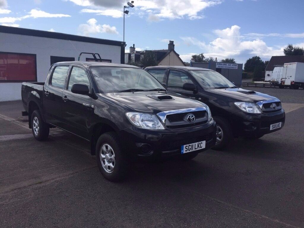 Toyota Hi-Lux HL2 Double Cab Pick Up - CHOICE OF TWO