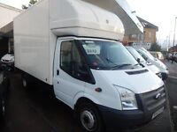 FORD TRANSIT LUTON 125 T350 RWD 2.2 2012 62 PLATE 6 SPEED 1 OWNER FULL SERVICE HISTORY TAIL LIFT