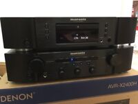 As New Marantz Amplifier & CD / MP3 Player, Mint Condition No Marks At All