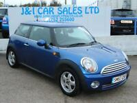 MINI HATCH ONE 1.4 ONE 3d 94 BHP A GREAT EXAMPLE INSIDE AND OUT (blue) 2007