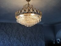 Pair Matching Chandeliers