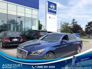 2015 Hyundai Genesis 3.8 Premium|AWD|NAVI|LEATHER|BCAM|OFF LEASE