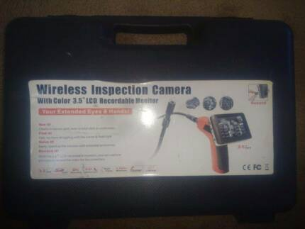 """Wireless Inspection Camera with 3.5"""" LCD"""