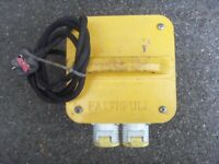 Faithful 110v Transformer Box 3.3kva