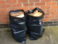 Seasoned hardwood logs from our own woodland