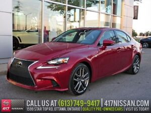 2014 Lexus IS 350 AWD F-Sport | Navigation, Sunroof
