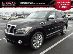 2012 Infiniti QX56 PREMIUM NAVIGATION/LEATHER/SUNROOF