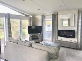2 BEDROOM LODGE FOR SALE, RIVERS EDGE PITCH, LIMITED PITCHES AVAILABLE,near INGLETON, YORKSHIRE