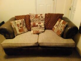 3 Seater & 2 Seater Chesterfield Sofa from SCS