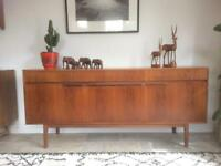 Retro Teak Sideboard by McIntosh 1960's