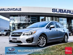 2014 Subaru Impreza 2.0i Touring Package LOW KILOMETER No Accide