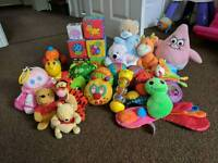 Box of Soft Baby Toys (0-6 Months)