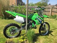 Kx 100 Read description very clean bike! Fully rebuilt £1200 ovno