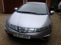 Honda Civic 1.8 i-VTEC, Petrol, Auto (i-Shift), 1 previous keeper, 5 door hatch, Long MOT