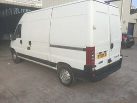 DIESEL 2003 DUCATO LWB WITH GENUINE LOW MILES. IDEAL CONVERSION VAN. Only 76k.