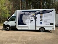 Custom built by Arnold Clark, was £48k plus vat new. Ideal camper or horse box conversion