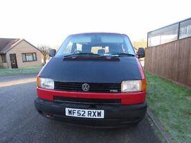 VW T4 Transporter Window Van. (Combi) 2002.