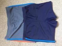 2x NEW Boys swimming trunks 11 age 146cm