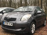 Toyota Yaris 1.3 TR Multimode 5dr 2008 Hatchback 71,245 miles Automatic Petrol