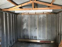 Fabricated concrete garage for sale 5.5m x2. 9m. Up and over door side window