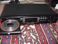Philips CD723 CD player with classic TDA1514A DAC and VAM 12 transport, headphone and digital out