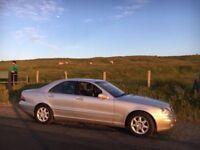 1999 Mercedes S420 94,000 Miles Mercedes Service History, Mot 22nd November