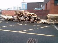 Wooden Pallets - 20+ FREE! Uplift Only!