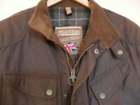 Matchless wax cotton bike jacket