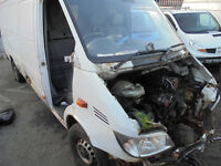 BREAKING MERCEDES SPRINTERS 311 CDI 313 CDI ENGINES GEARBOXES FUEL PUMP AXELS 2000-2006 ALL PARTS