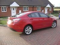 MG6 Red Immaculate Sporty Economical 5 seat hatchback car on 15 reg.