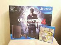*New Sealed* Ps4 slim 500gb uncharted 4 bundle with fifa 17!