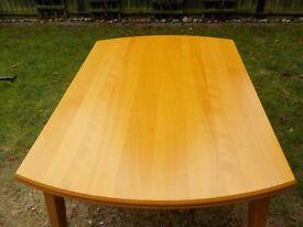 Ikea Extendable Dining Table - Beech Finish