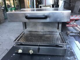 LIFT UP DOWN SALAMANDER ELECTRIC GRILL CAFE KEBAB CHICKEN CATERING COMMERCIAL KITCHEN FAST FOOD