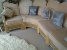 Like new corner conservatory suite like new comes apart for transporting £250 or near offer