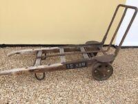 Vintage GPO Sack Barrow, Very Sturdy, For Use Or Display