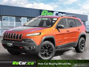 2016 Jeep Cherokee Trailhawk 4X4 | HEATED LEATHER | BACK UP CAM