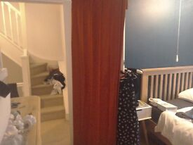 John lewis beautiful lined curtains almost new