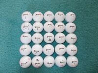 25 x SRIXON Soft Feel GOLF BALLS - GRADE A & B Condition