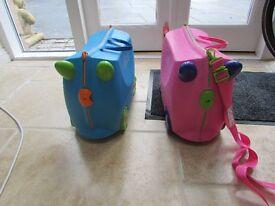 Trunki Kids Case Blue ( pink one sold)