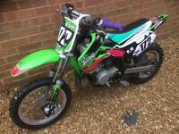 Kx 65 motocross bike